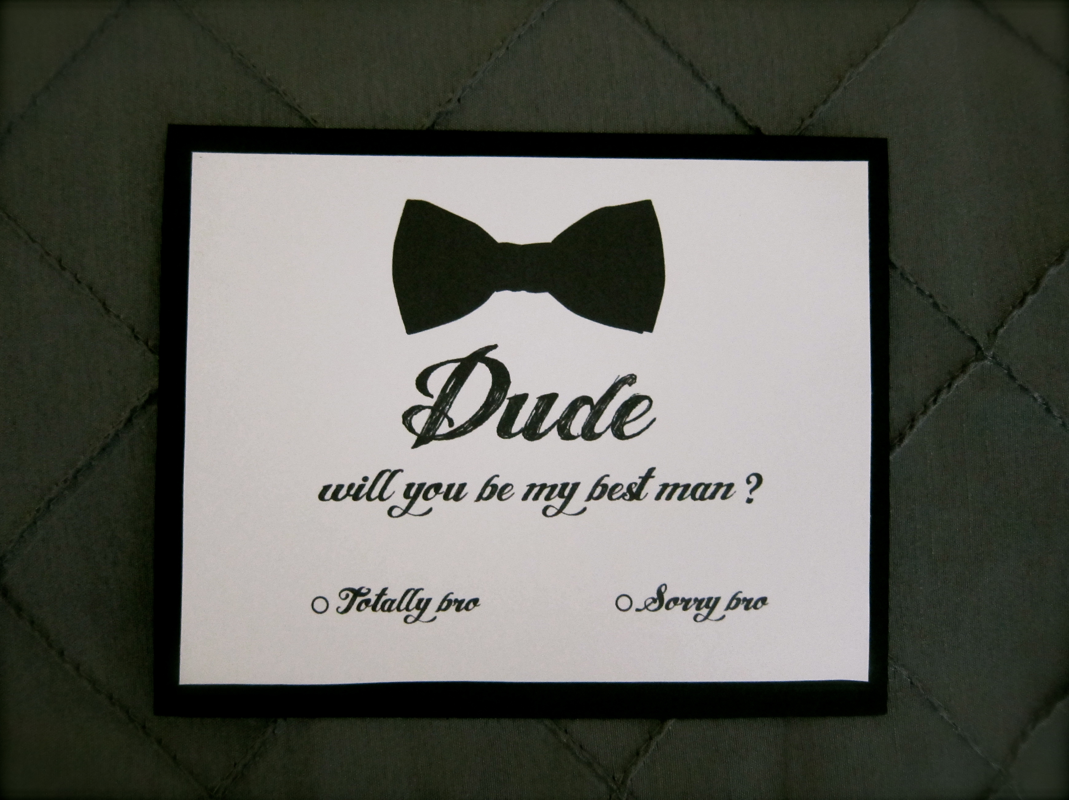 Will You Be My Groomsman and Best Man Cards from Wedding ...