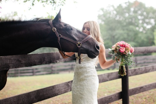 Marta Locklear Horse Farm Wedding