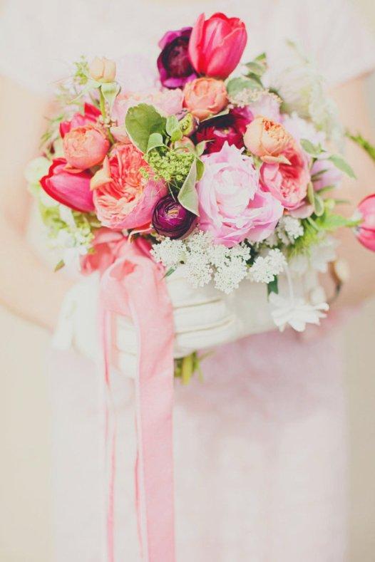 Bouquet w/tulips