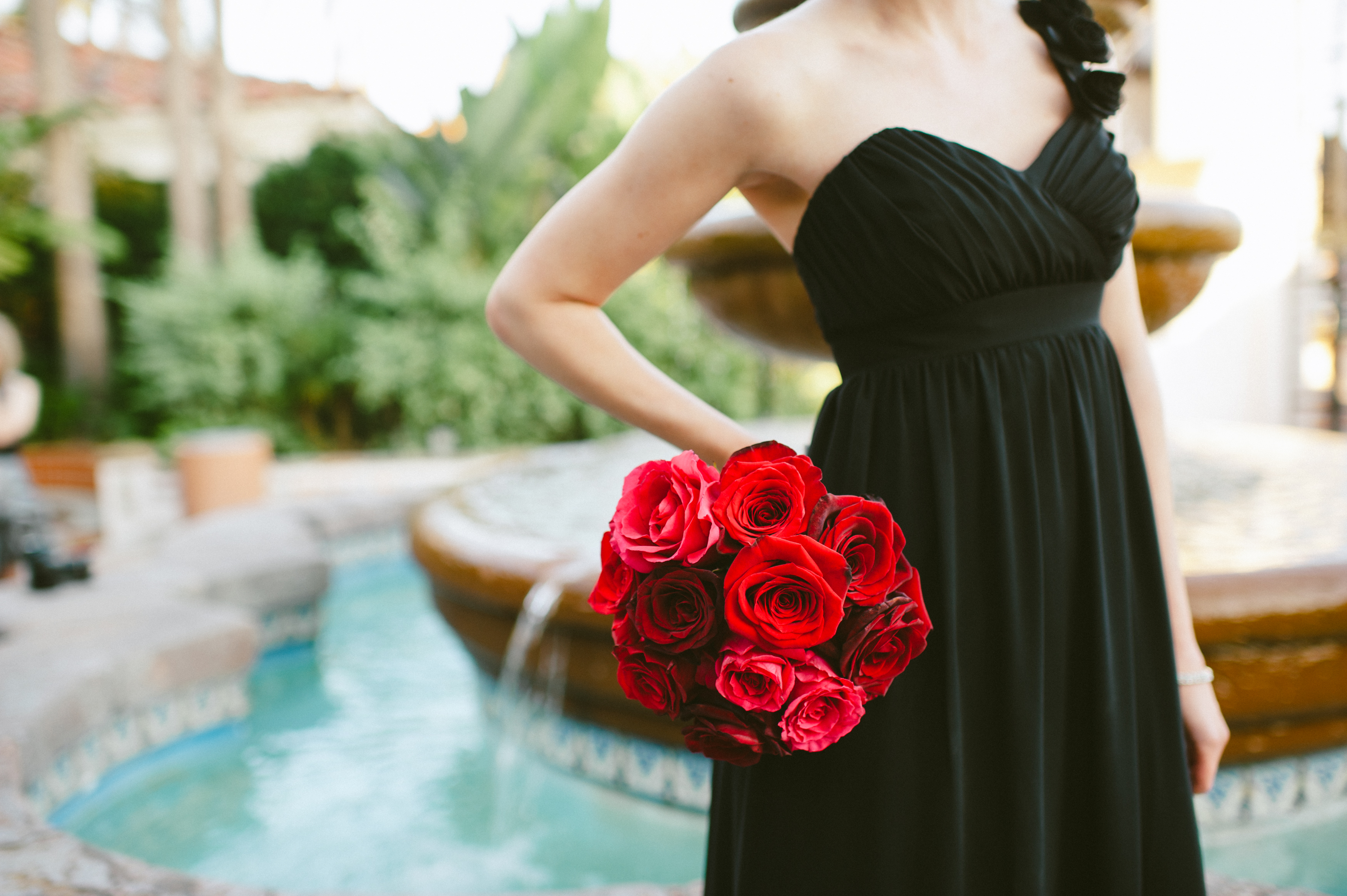 red black and white wedding | Live What You Love